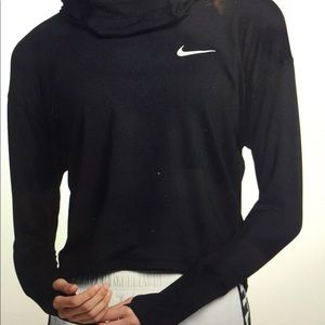 Nike Dry Fit Hoodie with reflective sleeves
